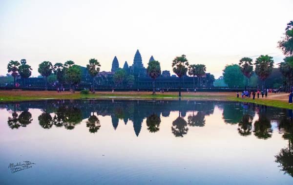 Wall Art - Photograph - Angkor Wat Reflections by Madeline Ellis