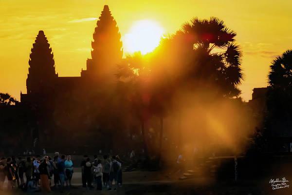 Angkor Wat Wall Art - Photograph - Angkor Wat Sunrise - Siem Reap, Cambodia by Madeline Ellis