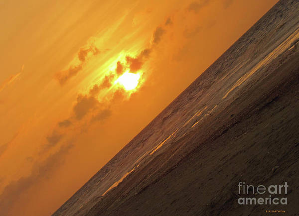 Photograph - Angled Holden Beach Sunrise by Roberta Byram
