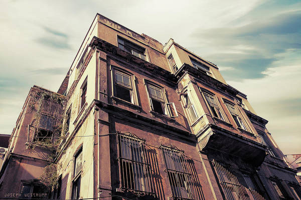Urban Decay Wall Art - Photograph - Angles Of Attrition by Joseph Westrupp