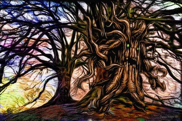 Digital Art - Angry Ent by Wesley Nesbitt