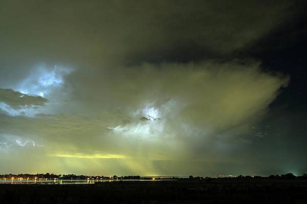 Photograph - Angry Thunderstorm Skies by James BO Insogna