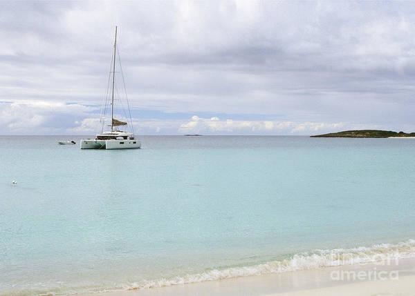 Photograph - Anguilla Sailboat by Wendy Gunderson