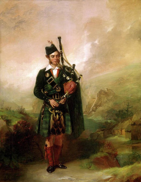 Wall Art - Painting - Angus Mackay by Alexander Johnston