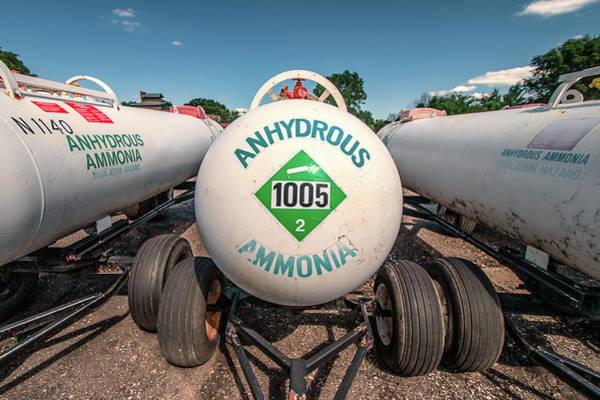 Wall Art - Photograph - Anhydrous Ammonia by Todd Klassy