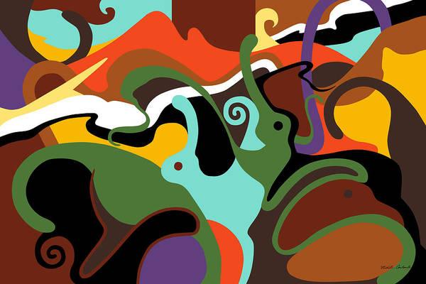Painting - Animal Spirits by Nikita Coulombe