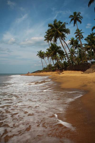 Goa Photograph - Anjuna Beach by Huw Jones