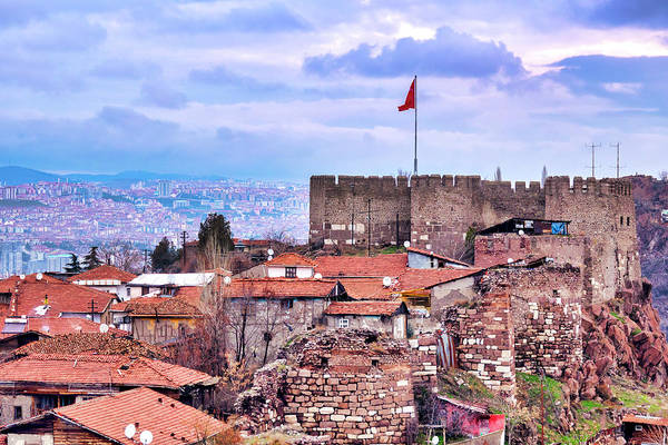 Wall Art - Photograph - Ankara Castle by Fabrizio Troiani