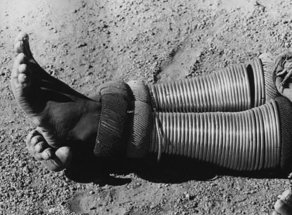 1972 Photograph - Ankle Bracelet by Keystone