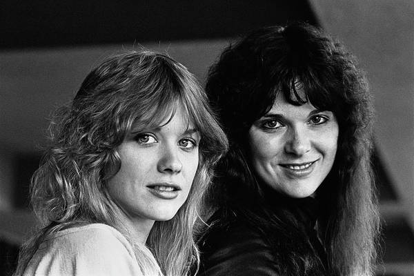 Photograph - Ann And Nancy Wilson Of Heart by George Rose