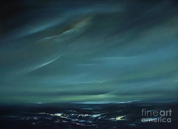 Painting - Anna Maria Calm by Lex Halakan
