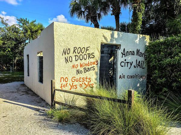 Photograph - Anna Maria City Jail by Doug Camara