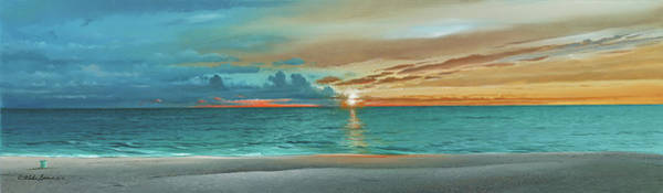 Painting - Anna Maria Island Beach by Mike Brown