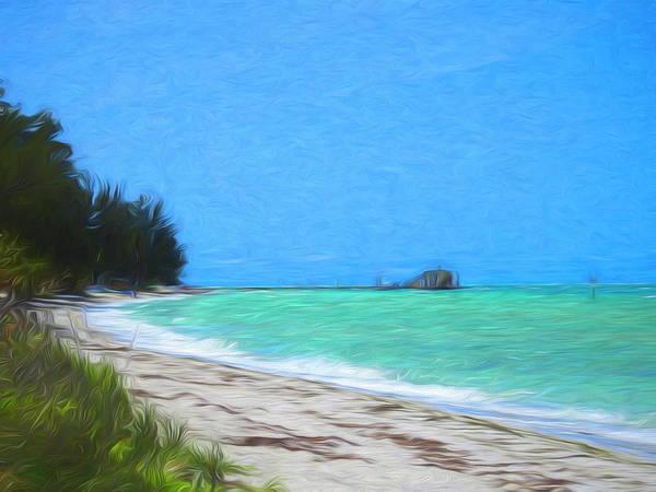 Anna Maria North Shore Art Print
