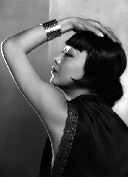 Photograph - Anna May Wong by Sasha