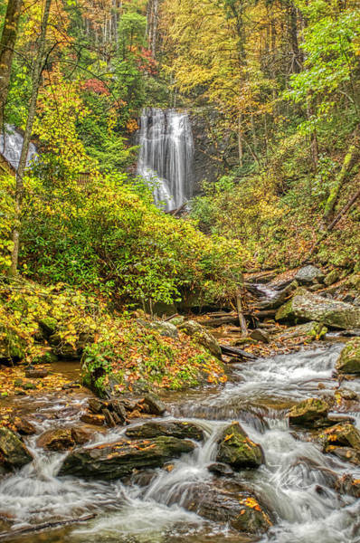 Photograph - Anna Ruby Falls Stream by Meta Gatschenberger