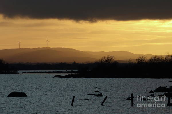 Photograph - Annaghdown Sunset by Peter Skelton