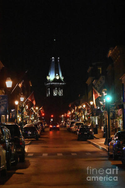 Wall Art - Photograph - Annapolis By Night by Skip Willits