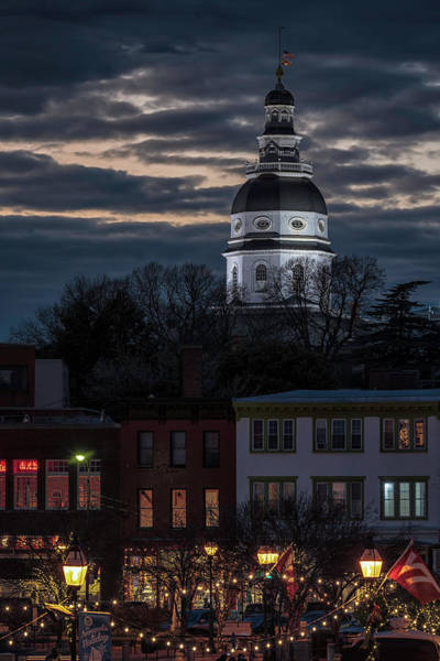 Wall Art - Photograph - Annapolis Holiday by Robert Fawcett