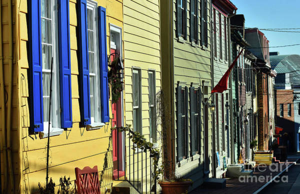 Wall Art - Photograph - Annapolis Row by Skip Willits