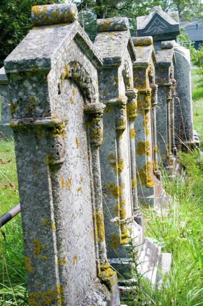 Maritime Provinces Photograph - Annapolis Royal Gravestones by David Smith