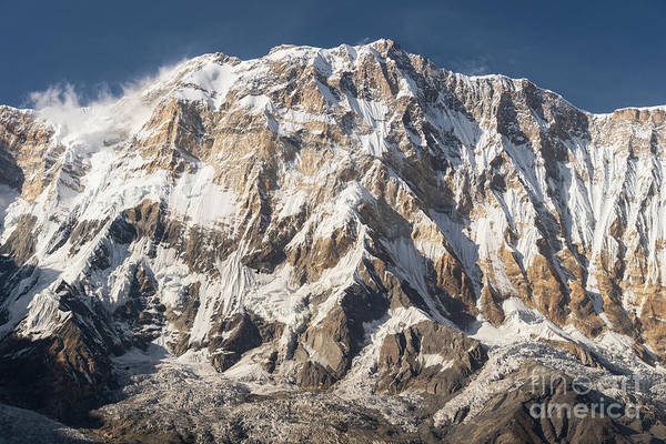 Photograph - Annapurna I Peak At 8091m In Nepal by Didier Marti