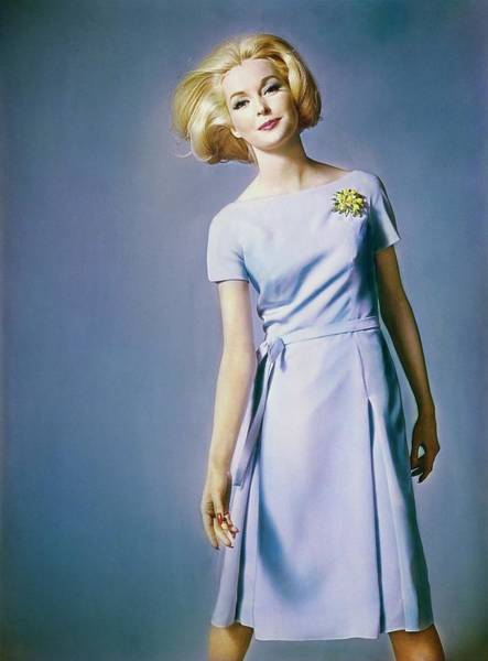 Photograph - Anne De Zogheb In Jane Derby by Bert Stern