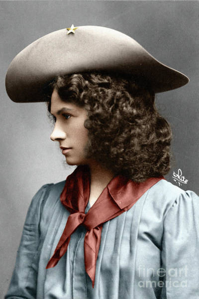 Photograph - Annie Oakley by Granger