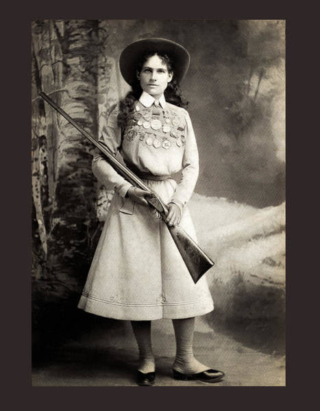 Photograph - Annie Oakley by Carlos Diaz