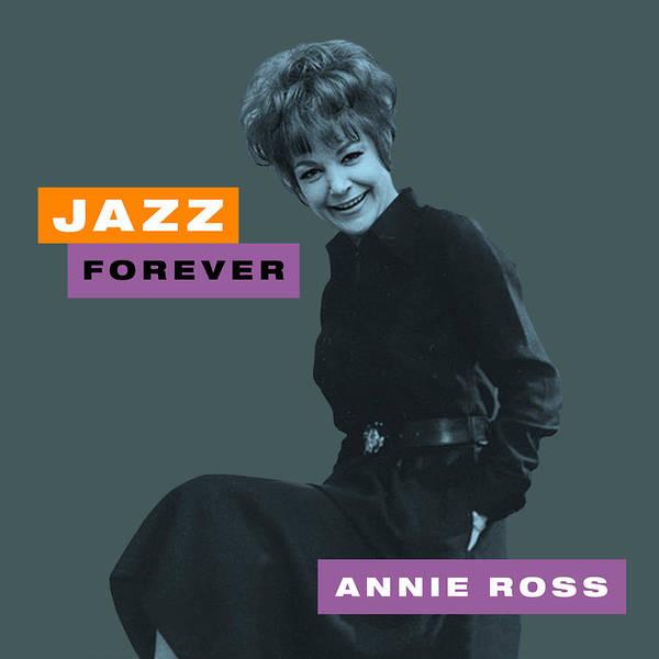 Jazz Trio Digital Art - Annie Ross - Jazz Forever by David Richardson