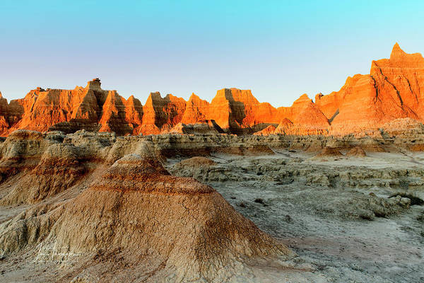 Photograph - Another Badlands Sunrise by Jim Thompson