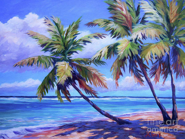 South Beach Painting - Another Beautiful Day by John Clark