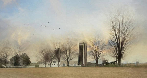 Farm Landscape Mixed Media - Another Blessed Morning by Lori Deiter