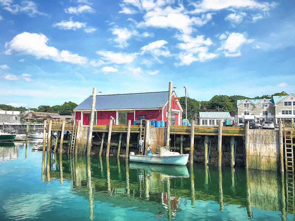 Kennebunkport Maine Photograph - Another Day On The Water by Donna Kennedy