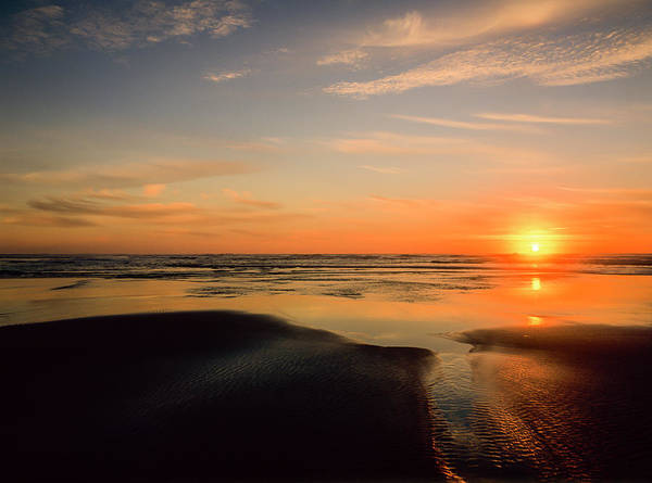 Photograph - Another Oregon Coast Sunset by Robert Potts