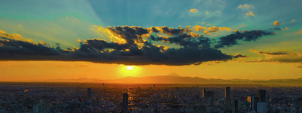 Wall Art - Photograph - Another Roppongi Sunset by Wfantiola