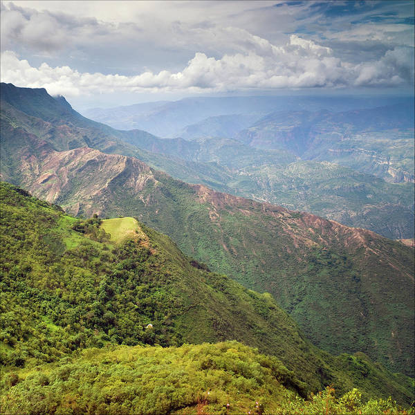 Colombian Wall Art - Photograph - Another View Over Chicamocha by Photograph By Rory O'bryen