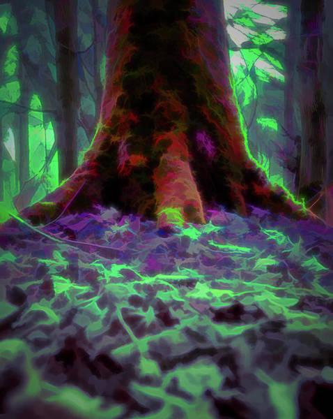 Digital Art - Another World - Overgrown by Scott Lyons