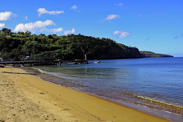 Photograph - Anse La Raye Beach by Tony Murtagh