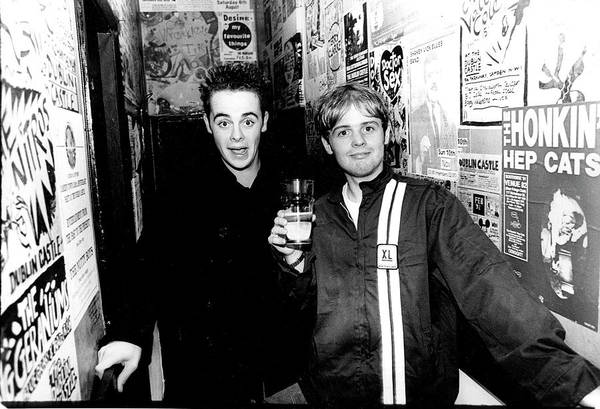 Ant Photograph - Ant And Dec Dublin Castle London 1994 by Martyn Goodacre