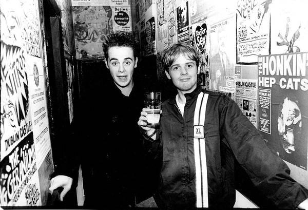 Photograph - Ant And Dec Dublin Castle London 1994 by Martyn Goodacre
