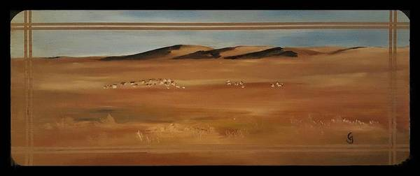 Painting - Antelope         4 2019 by Cheryl Nancy Ann Gordon