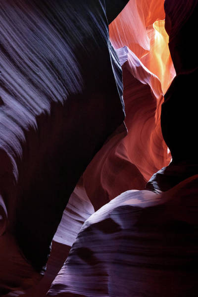 Photograph - Antelope Canyon Light From Within The Shadows by Gregory Ballos