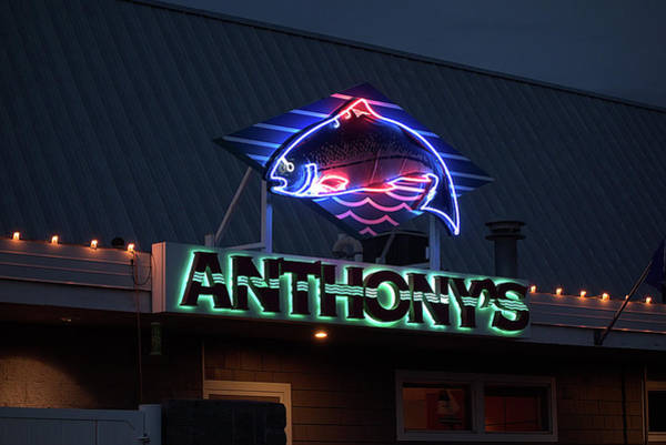 Wall Art - Photograph - Anthony's At The Falls - Spokane by Daniel Hagerman