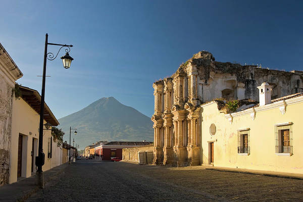 Wall Art - Photograph - Antigua Old Town, Guatemala by Michele Falzone
