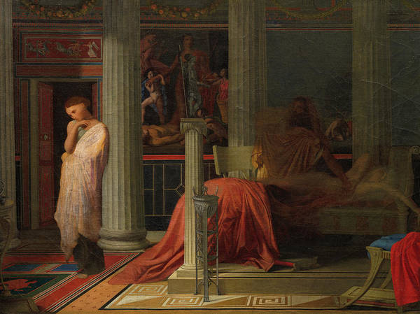 Wall Art - Painting - Antiochus And Stratonice, 1838 by Jean-Auguste-Dominique Ingres