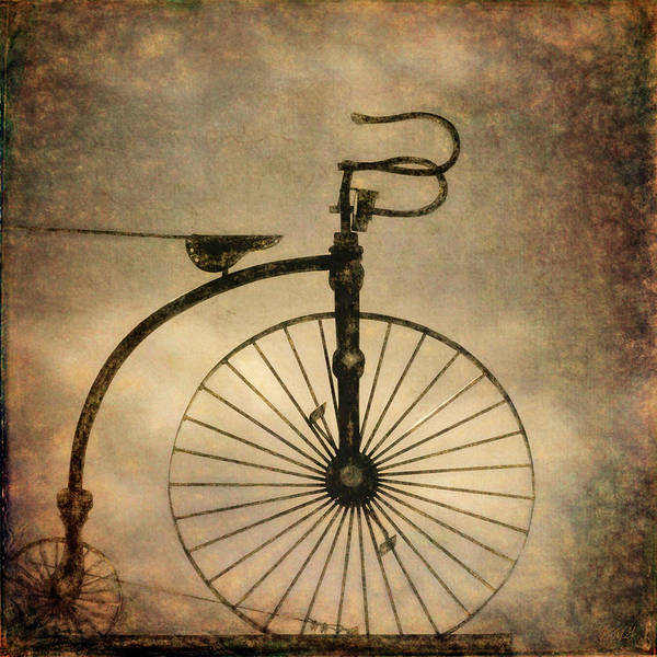 Photograph - Antique Bicycle I  by David Gordon