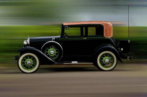 Photograph - Antique Car by Dan Friend