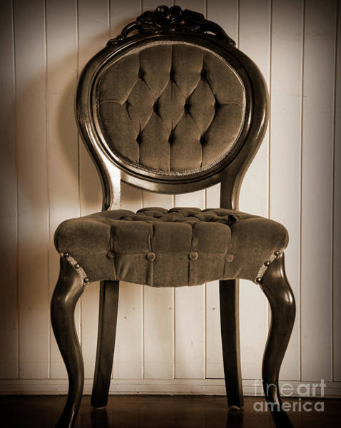 Digital Art - Antique Chair by Kirt Tisdale