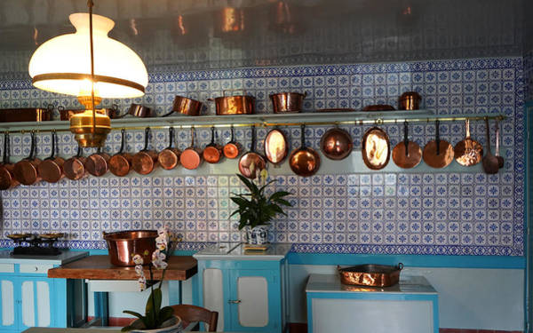 Photograph - Antique Copper Pots by Andrew Fare